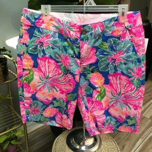 Lilly Pulitzer Beckon Blue Shorts
